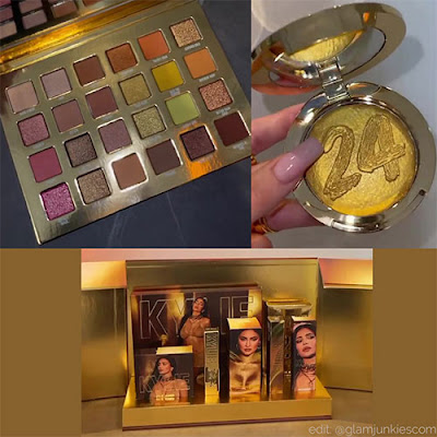 Kylie Cosmetics new Collection 24k Gold