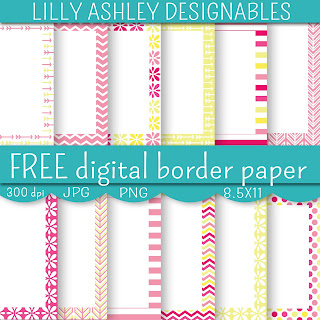 free printable digital paper lilly ashley designables