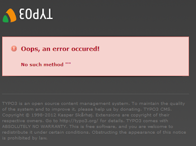 Typo3 4.5.13 upgrade deprecationLog Error