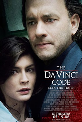 The Da Vinci Code theatrical poster