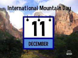International Mountain Day Wishes for Instagram