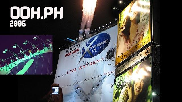 "The Rexona ""Live"" Billboard"
