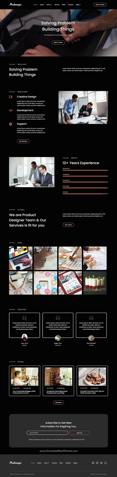 Best CV & Portofolio Template
