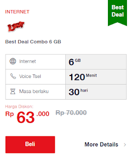 Paket best deal telkomsel loop