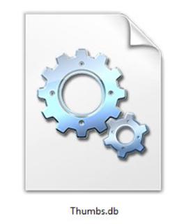 مجلد الصور المصغرة في نظام ويندوز