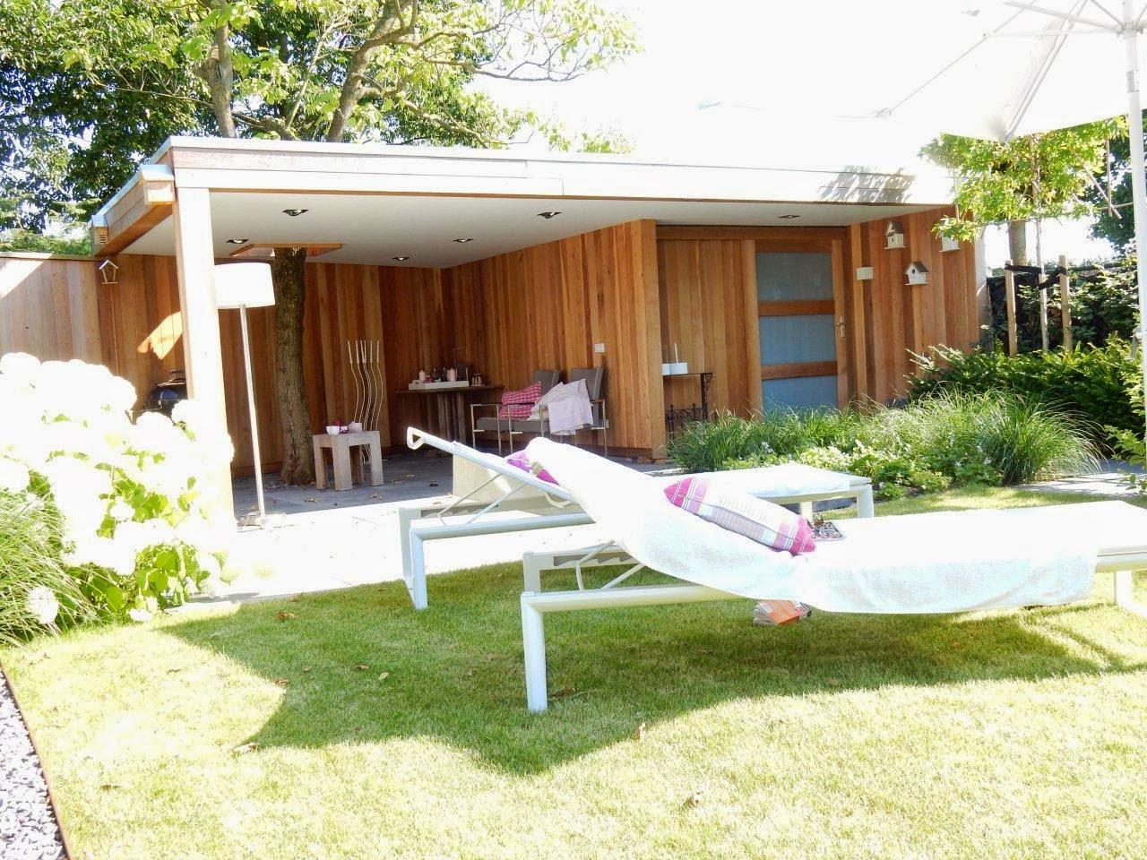 Tuinhuisjes En Prieeltjes Tuinhuis Strak Modern Met Afgetimmerd