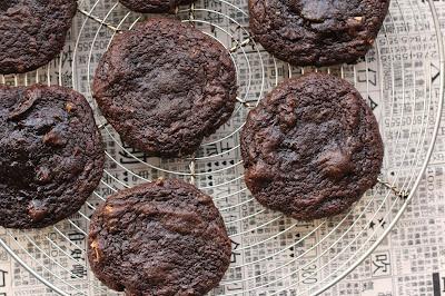cookies chocolat cacahuete sauce soja