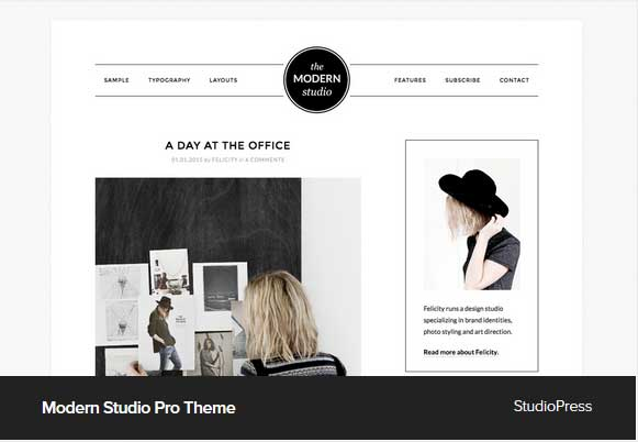 Modern Studio Pro Theme Award Winning Pro Themes for Wordpress Blog : Award Winning Blog