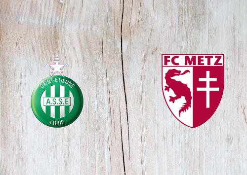 Saint-Etienne vs Metz -Highlights 25 September 2019