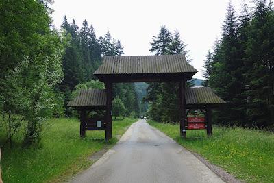 Wejście do GPN w Koninkach