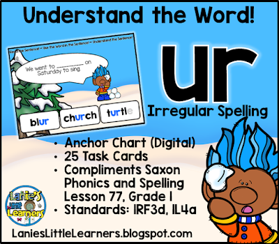 Letter Combination ur (Bossy r): Understand the Sentence!