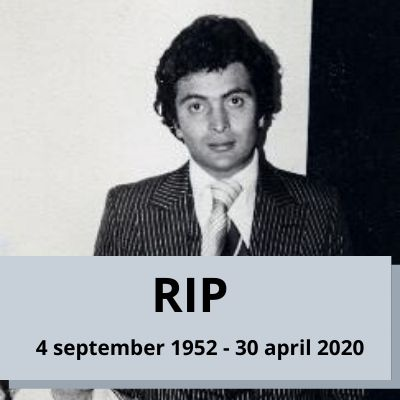 Legendary actor Rishi Kapoor died at the age of 67