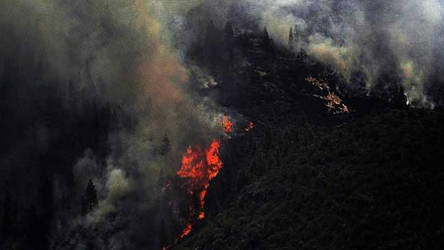 Aviso de incendio en Valsequillo, 26 agosto, en Cuevas Negras, en el Valle de San Roque
