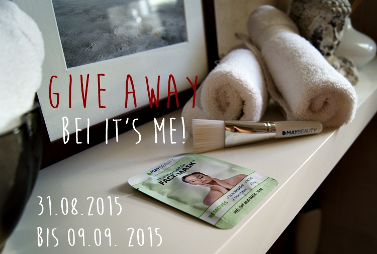 Blog + Fotografie by it's me! - GIVE AWAY zum 2. Bloggeburtstag - Gesichtsmaske von MAYBEAUTY mit Pinsel