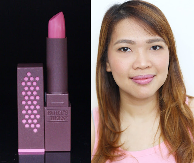 a photo of Burt's Bees 100% Natural Lipstick in Tulip Tide