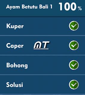 Jawaban Tts Cak Lontong Ayam Betutu Bali 1 Terbaru