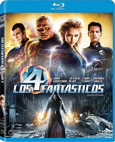 Fantastic Four (Los 4 Fantásticos) (2005) m1080p BDRip 11GB mkv Dual Audio DTS 5.1 ch