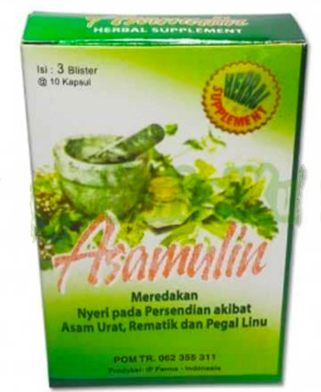 jual asamulin kapsul obat asam urat buatan ip farma di surabaya