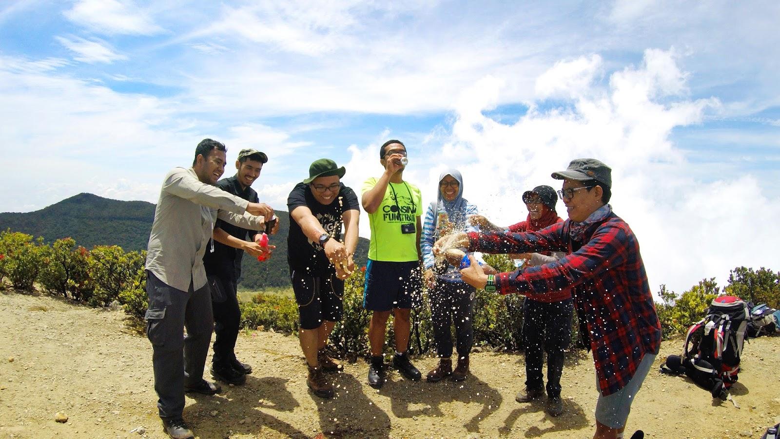 Mincak di Gunung Gede