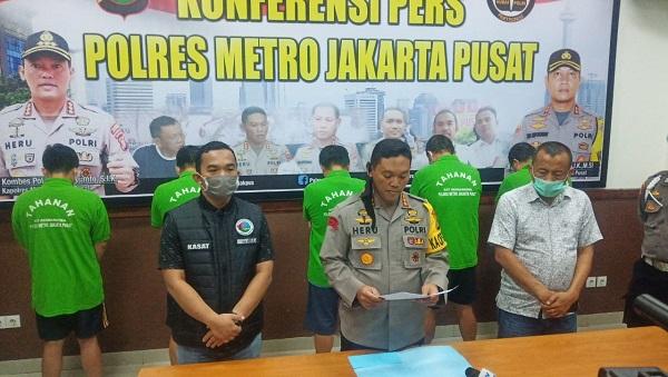 Niat Pesta Narkoba, Salah Satu Oknum Bea Cukai Dibekuk Polres Metro Jakpus