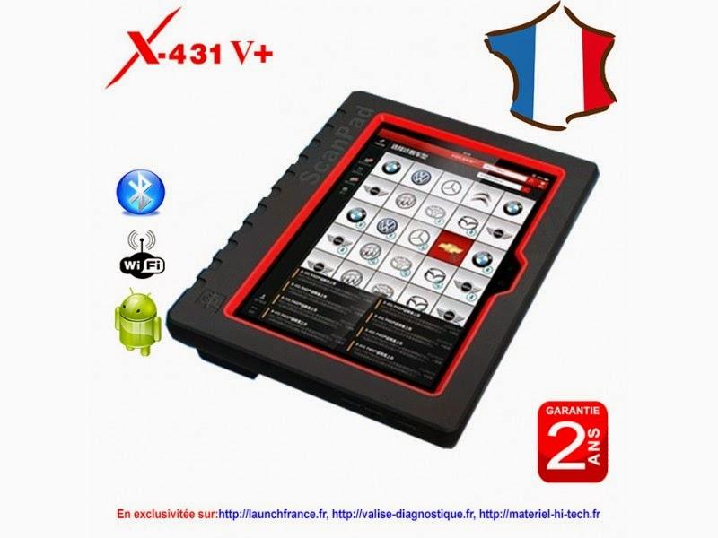 Launch X-431 Master V - V+ - PRO | Valise diagnostic AUTEL - LAUNCH