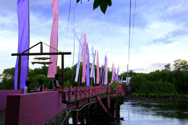 Jembatan Pulau Santen.