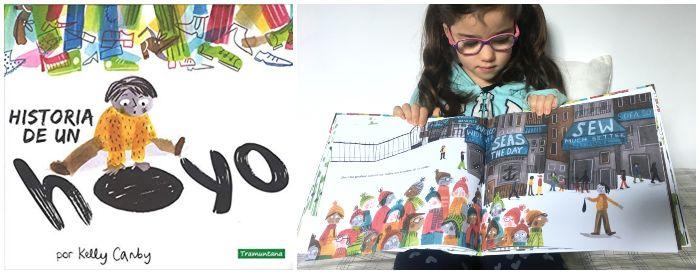 cuento infantil 5 a 8 años regalar Navidades Historia de un hoyo Tramuntana
