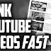 How to rank your YouTube video.