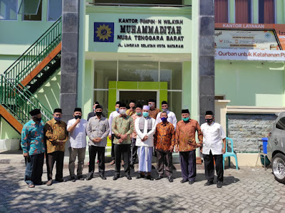 PW Muhammadiyah NTB Siap Bertukar Pikiran dengan Pasangan HARUM