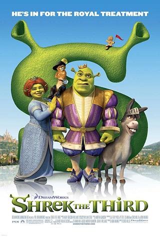 Shrek The Third 2007 Dual Audio Hindi 300MB BluRay 480p
