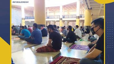 Pemerintah Izinkan Shalat Tarawih, Malam Ramadhan Yang Syahdu Akan Kembali Terasa Di Msjid Agung