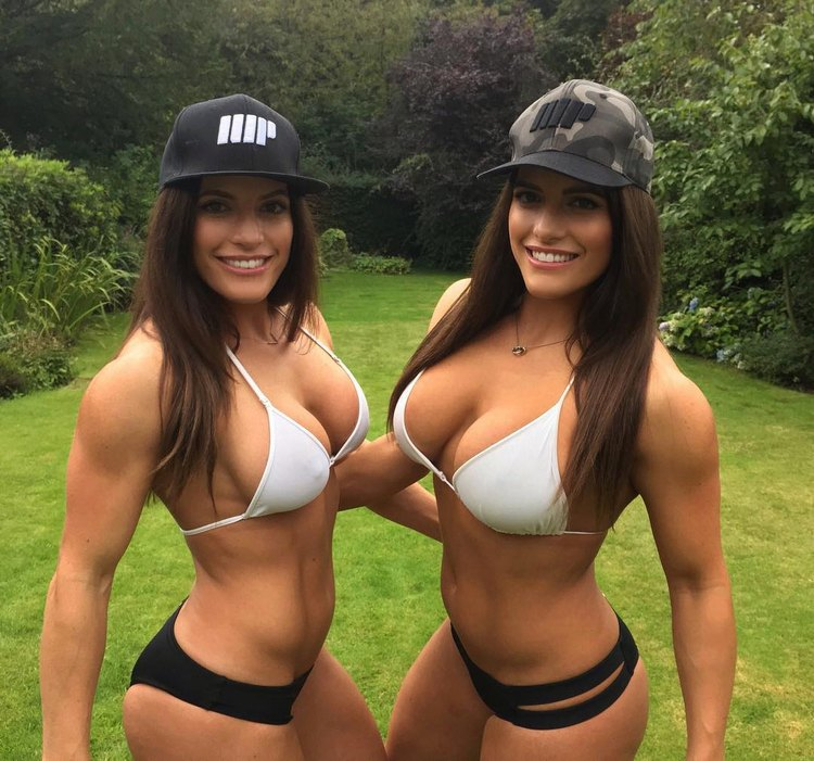 Jenny and Lucy West twins Female Bodybuilding