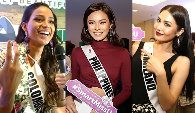 Fast Talk with Miss Universe 2016 contestants