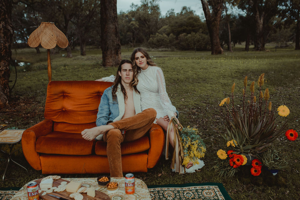 STYLED SHOOT: 'LORDS OF DOGTOWN' ELOPEMENT | STYLED RETRO WEDDING EDITORIAL PERTH WA