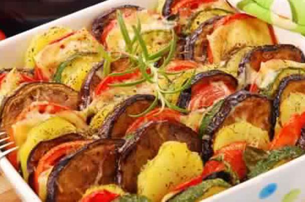 صينية بطاطس لايت للنباتيين