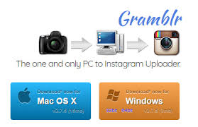 cara upload foto di instagram dengan gramblr