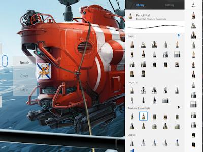 تطبيق الرسم الالكترونى Autodesk SketchBook مدفوع للأندرويد - تحميل مباشر