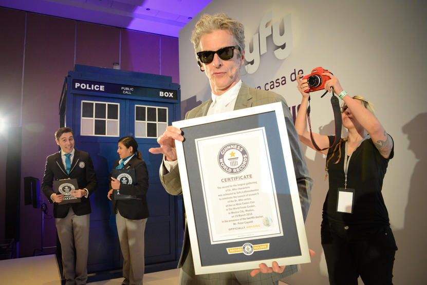 Fans de Doctor Who baten récord Guiness