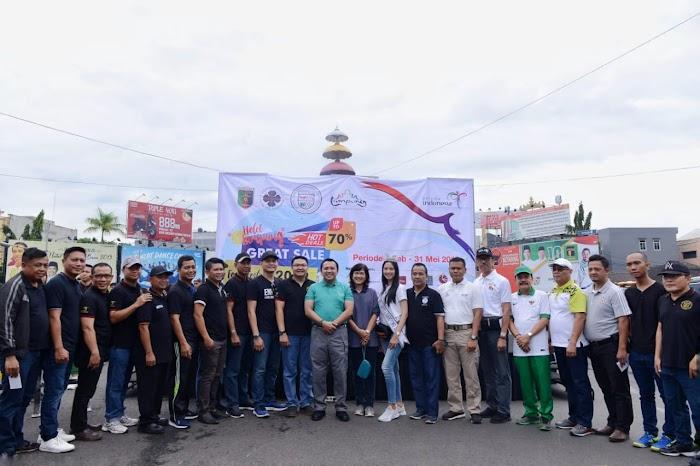 Pulihkan Ekonomi Rakyat Pascabencana Tsunami, Gubernur Ridho Buka Lampung Hotel Great Sale dan Food Festival 2019