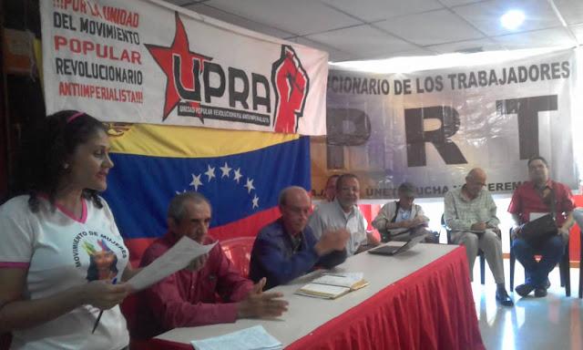 Se desarrolla con éxito 1er Encuentro Nacional de la Clase Obrera organizado por la UPRA