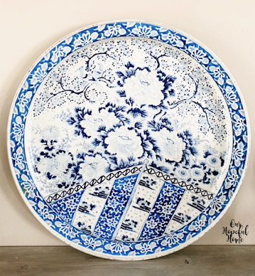 SPic and Span classic design serving tray Ming Dynasty pattern