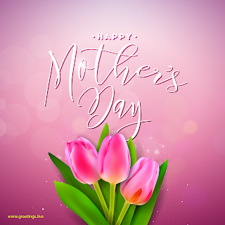 happy mothers day flowers greetings