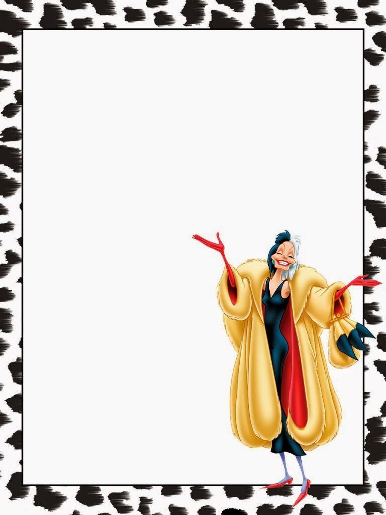 101 Dalmatians Free Printable Notebook Oh My Fiesta In