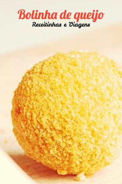 bolinha de queijo #Receita