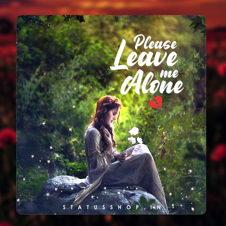Alone Girl DP Pic