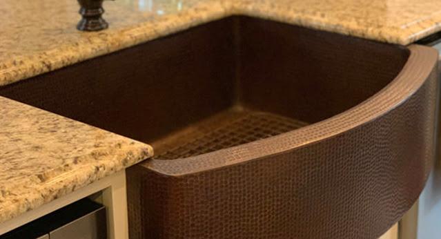 Premium Copper kitchen sink