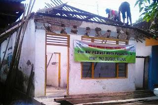 Program Bantuan Bedah Rumah Lazisnu Kota Pasuruan Bagi Warga Kepel