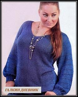 prostoi-pulover-svyazannii-spicami