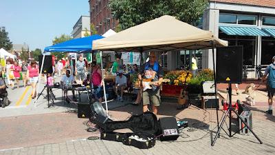 Street Peformer Playing Music