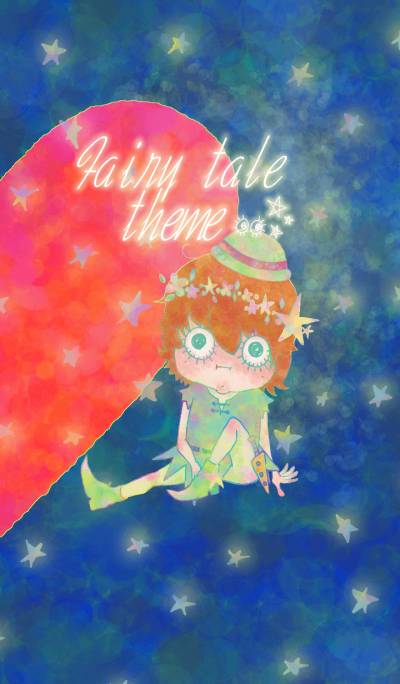 Fairy tale pair theme. Boy